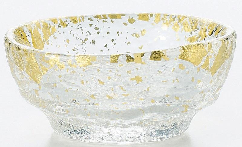 ガラス食器 鉢 金箔鉢 のぞき 6個入 43240G 東洋佐々木ガラス