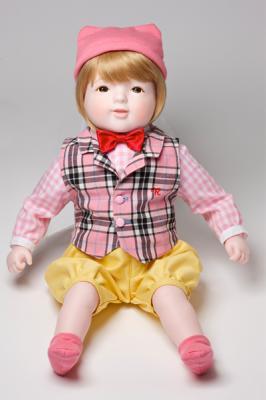 日本製 赤ちゃん人形ロイヤルベビー ニコルP(ピンク)