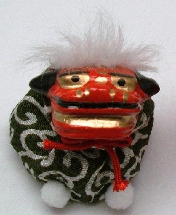 "b8bf3f972 suzukatu: ""New"" crepe beanbag lion type juggling green of ..."