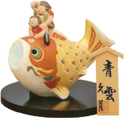 久月作 博多人形 青雲 〈日本人形 はかたにんぎょう 和のインテリア・置物 日本の伝統品 海外・外国への贈り物・プレゼントにもおススメです! 通販〉