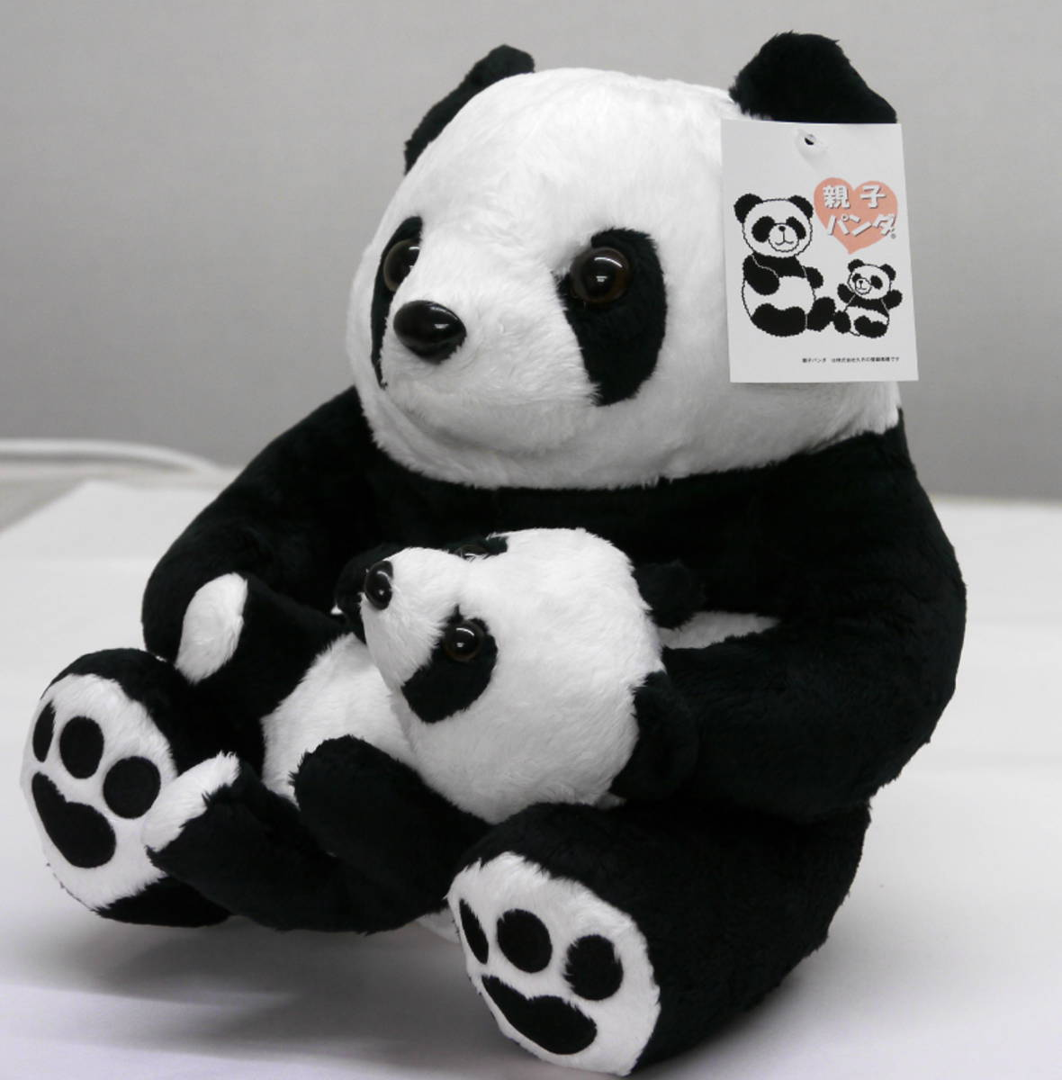 suzukatu  rakuten global market parentchild plush lovely panda  - parentchild plush lovely panda giant panda family plush height approx cm q