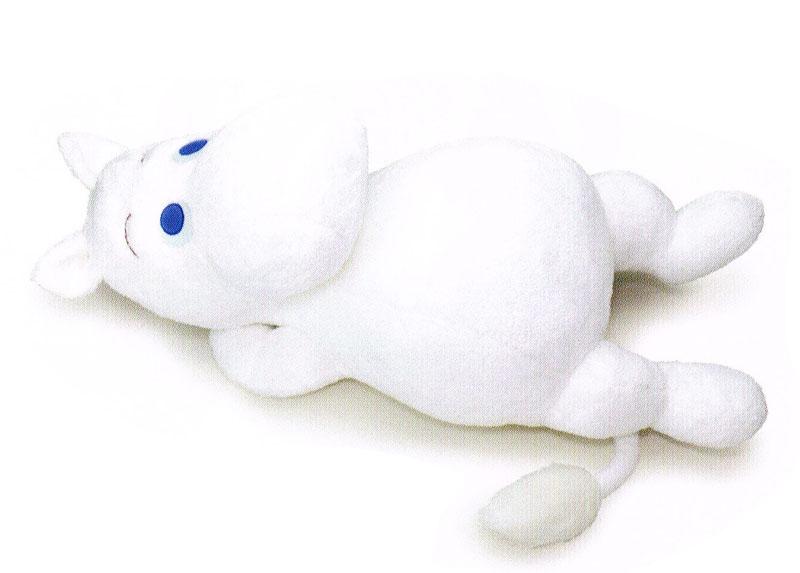 ムーミン ぬいぐるみ お昼寝ムーミン 大きなムーミンのぬいぐるみ 〈Moomin むーみん キャラクター縫い包み 縫いぐるみ ヌイグルミ トーベ・ヤンソン ムーミントロール 玩具 おもちゃ 通販〉