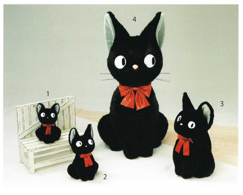 魔女の宅急便 ぬいぐるみ ジジ 座LL お写真4番の商品になります。 〈スタジオジブリグッズ アニメ・映画キャラクター縫い包み まじょのたっきゅうびん 黒猫 くろねこ 縫いぐるみ ヌイグルミ Studio Ghibli Kiki's Delivery Service〉