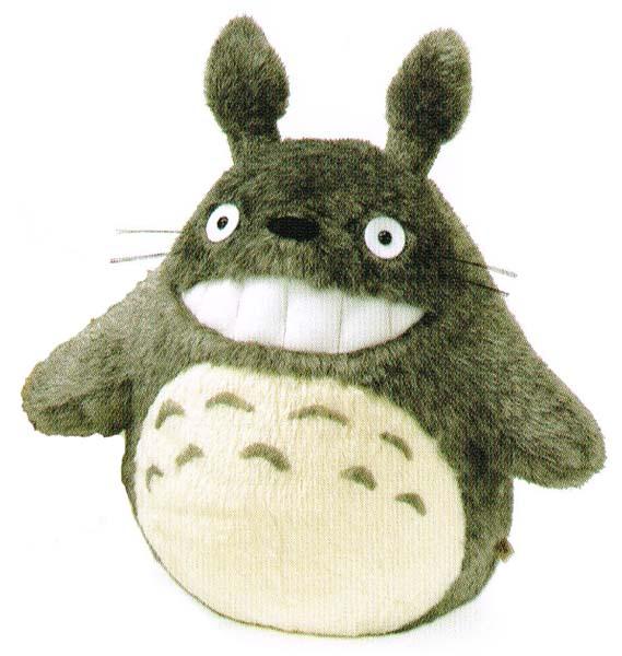 となりのトトロ ぬいぐるみ 大トトロ 笑いLL お写真はLサイズの商品です。本ページはLLサイズの販売となります。 〈スタジオジブリグッズ アニメ・映画キャラクター縫い包み となりのととろ 縫いぐるみ 隣のトトロ Studio Ghibli My Neighbor Totoro〉