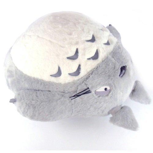 となりのトトロ ぬいぐるみ 大トトロ お昼寝クッション グレー 〈スタジオジブリグッズ アニメーション・映画キャラクター縫い包み となりのととろ 縫いぐるみ 隣のトトロ くっしょん 枕 まくら 玩具 おもちゃ おひるね Studio Ghibli My Neighbor Totoro〉