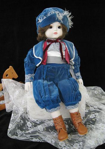 ロマネスク インテリアドール doll ルビアン 磁器人形 〈洋人形 インテリア人形 にんぎょう通販〉
