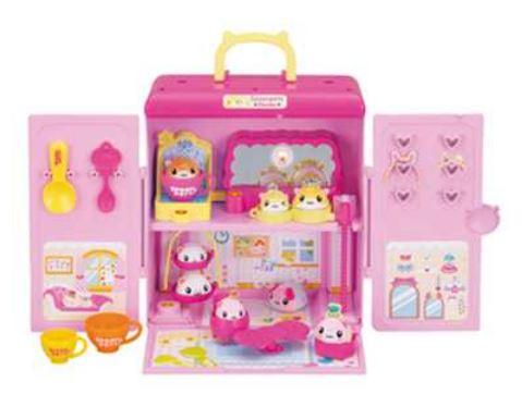 玩具 楽しく遊べるおもちゃ スプーンサイズの小さなペット SPOON PETS スプーンでタッチ!スプーンペットおやこの にぎやかドレッサーハウス 〈子供用玩具 子ども こどものおもちゃ 幼児 女の子向け お世話遊び 通販〉