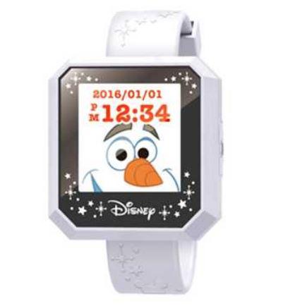 玩具 楽しく遊べるおもちゃ ディズニーキャラクター Magical Watch マジカルウォッチ ホワイト 〈子供用玩具 子ども こどものおもちゃ 幼児 女の子向け 腕時計 デジタルアクセサリー ウェアラブルトイ ゲーム とけい Disney 通販〉