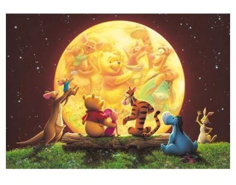 300 片的拼图迪斯尼的动画拼图拼图系列益智爱好小熊维尼 [小熊维尼 300 片教育的迪斯尼--小熊维尼拼图玩具玩具熊吗?
