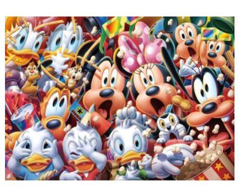 【生産終了品】 アニメーションジグソーパズルシリーズ 趣味のパズル ディズニーシリーズ 1000ピースパズル 【D-1000-425 Wow!】 〈Disney jigsaw puzzle 玩具 おもちゃ ミッキー&フレンズ 1000ピース知育〉