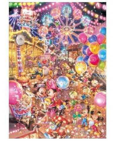 アニメーションジグソーパズルシリーズ 趣味のパズル ディズニーシリーズ 光るジグソー 2000ピースパズル 【D-2000-612 トワイライト パーク】 〈Disney jigsaw puzzle 玩具 おもちゃ ミッキー&フレンズ 2000ピース知育〉
