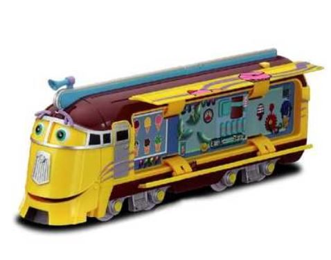 Suzukatu fun fun toys toys and games toys chuggington frostini q children 39 s toys - Train dessin anime chuggington ...