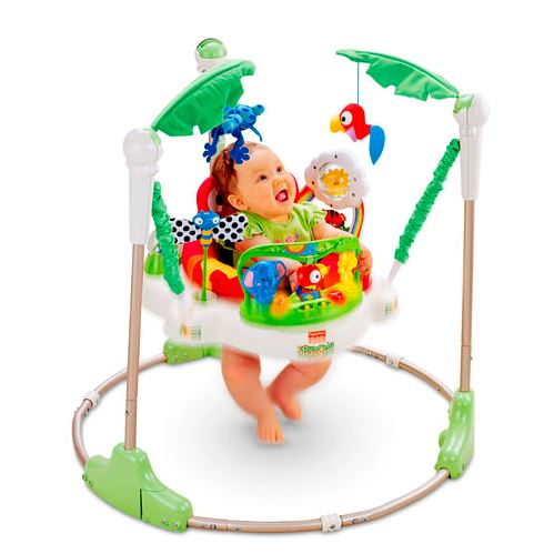 玩具 楽しく遊べるおもちゃ・ベビー向けおもちゃ 欧米で大人気! フィッシャープライス CCT41 レインフォレスト・ジャンパルー 〈子供用玩具 子ども こどものおもちゃ 幼児 オモチャ 赤ちゃん用室内遊具 赤ちゃんが喜ぶ〉