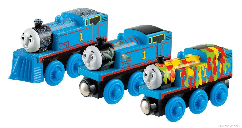 楽しく遊べるおもちゃ アニメーション・漫画・キャラクター玩具 きかんしゃトーマス トーマス木製レールシリーズ Y4102 トーマスぼうけんセット 〈子供用玩具 こどものおもちゃ 男児向け あにめ・まんが 機関車 電車遊び Thomas and Friends〉