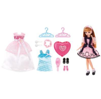 玩具 楽しく遊べるおもちゃ・着せ替え人形 リカちゃん人形 ドール LD-01 すてきなリカちゃん ギフトセット 〈大人・子供向けおもちゃ 女の子向け ごっこ遊び コレクション きせかえ人形 ファッションドール 香山リカ Licca-chan 洋服 衣装 着替え〉