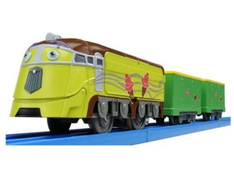 Suzukatu toy train collection miniature train hobby model rail chuggington cs 06 plastic rail - Train dessin anime chuggington ...