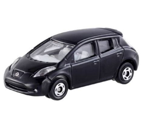 Fun Toys And Toy Cars Collection Miniature Train Tomica From Tt 11 Nissan Leaf Headlights Shine Hobby Kid Friendly Car Model