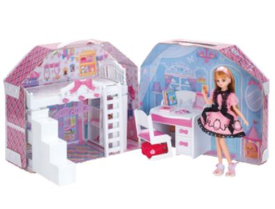 House Toys For Girls : Suzukatu fun toys toys dress up room doll licca dolls licca