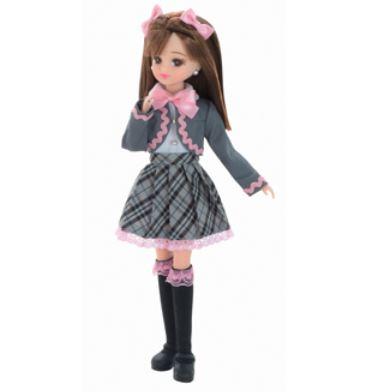 玩具 楽しく遊べるおもちゃ・着せ替え人形 リカちゃん人形 きせかえドール LD-13 新学期 〈おもちゃ 大人・子供向けおもちゃ 女の子向け コレクション ファッションドール 香山リカ Licca-chan 洋服 衣装 Licca-chan タカラトミー 着替え〉
