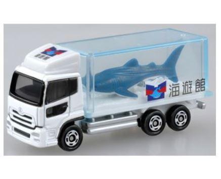 有趣的玩具,玩具卡车收集车 Tomica 69 号水族馆轨道 (鲨鱼) (爱好,收藏玩具成人和孩子友好汽车模型迷你海上邮轮酒店鲸鱼存储)