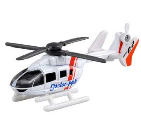 有趣的玩具,玩具直升机收藏 Tomica 97 号合力 (爱好,收藏玩具成人和孩子友好直升机模型迷你直升机紧急医疗直升机存储)