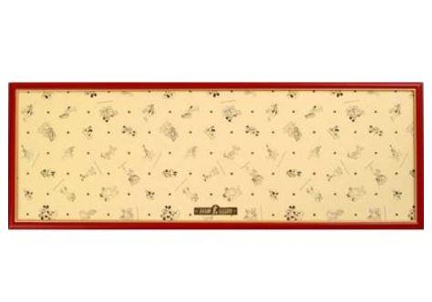 アニメーションジグソーパズルシリーズ 趣味のパズル ディズニーシリーズ 950P用パズルフレーム 【ディズニー専用木製パネル レッド】 ジグソーパズルフレーム 〈Disney jigsaw puzzle frame 玩具 おもちゃ 950ピース用 ジグソーパズル 額縁 知育〉