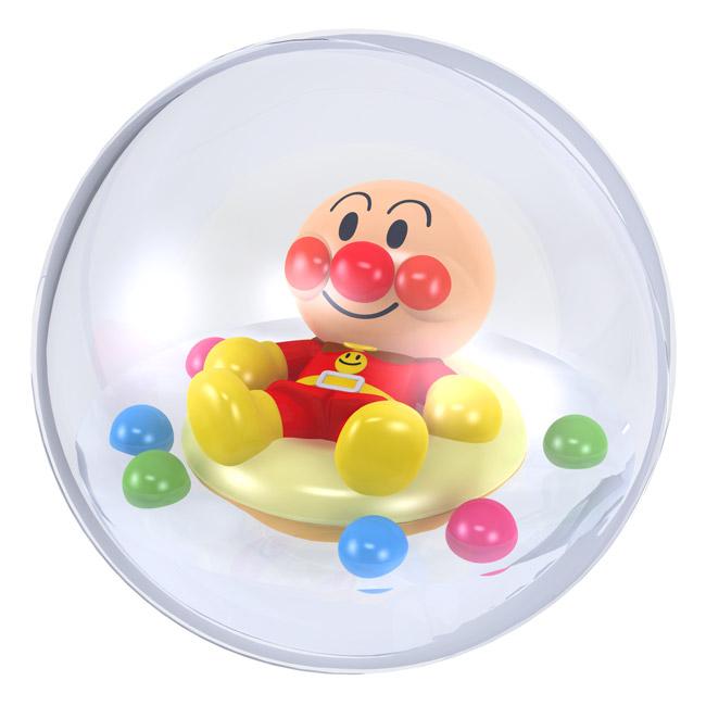 沐浴玩具玩具嬉戏 ! Anpanman 丰满的狗水碗停抽烟水球 q 儿童儿童儿童蹒跚学步婴儿婴儿婴儿婴儿豆面包包子浴时间玩具水球购物]