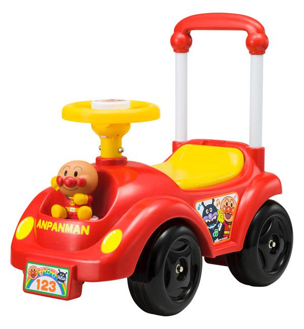 【生産終了品】 おもちゃの乗り物 玩具 アガツマ NEWメロディ 足けり乗用アンパンマンカー 〈子供用 こども 幼児用 足蹴り 足けり車 押車 押し車 おしぐるま あんぱんまん ばいきんまん のりもの くるま プレゼント・ギフト・贈り物にもおススメ☆〉