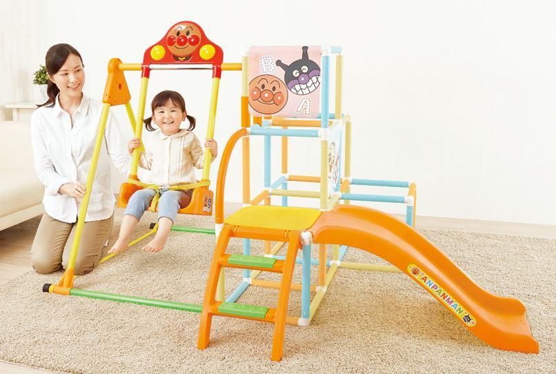 """家中的""""新""""的玩具玩具玩具公园应该和他说话 ! Anpanman 和朋友公园 DX [秋千 jannguru 酒吧礼品和礼物的孩子孩子孩子孩子丛林健身房幻灯片游乐场设备也是受欢迎的。 生日邮件吗?"""
