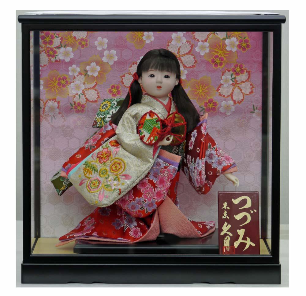 久月作 日本人形 わらべ人形・童人形 8号 【春彩 つづみ】 〈Japanese doll 日本文化 伝統品 和のインテリア 和人形 おにんぎょう 外国・海外へのお土産・贈り物・プレゼント・ギフトにもおススメです!〉