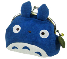 【生産終了品】 ジブリコレクション・和風雑貨 となりのトトロ がまぐち 中トトロ 〈スタジオジブリグッズ アニメ・映画キャラクターグッズ となりのととろ 青トトロ 小銭入れ コインケース コイン収納 こぜにいれ がま口 Studio Ghibli My Neighbor Totoro〉