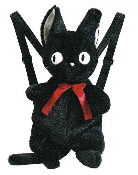 ジブリコレクション 魔女の宅急便 リュックサック ジジ 〈スタジオジブリグッズ アニメ・映画キャラクターグッズ まじょのたっきゅうびん クロネコじじ くろねこ 黒猫 りゅっくさっく バックパック ナップサック Studio Ghibli Kiki's Delivery Service〉