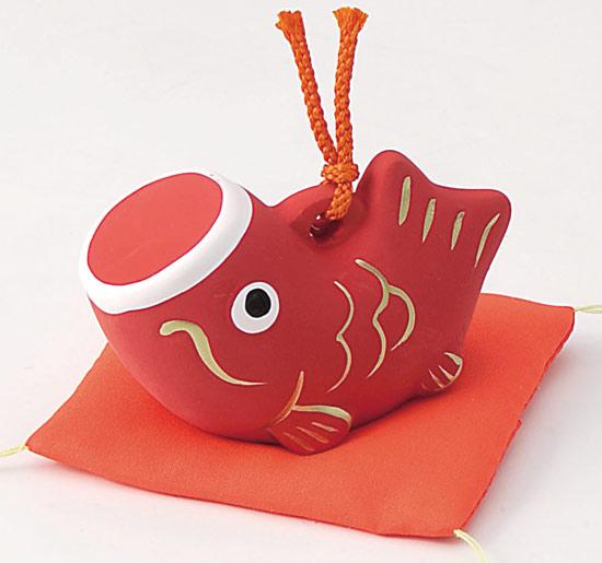 陶瓷富林和黏土娃娃娃娃五月飘带天鲤鱼流光 Dano 节日儿童节 5/5 福 Rin 妈妈红鲤鱼放 (小) 天