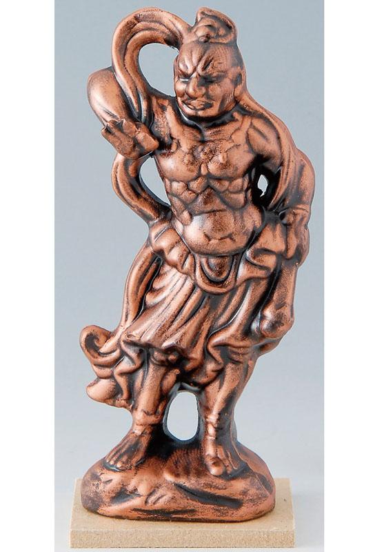 プレゼント ギフト 贈り物 贈答品にもおススメです 仏像シリーズ ブロンズカラー 青銅色 供え 塗装 陶器製 仏像 仁王 金剛力士像 吽形 小 瀬戸物 スーパーセール におう ほとけさま 二王 ぶつぞう 外国人への日本のお土産としても人気です 〉 日本製です ぶっきょう 海外旅行 うんぎょう 仁王様 〈仏教 仁王像 仏様