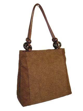 棕色挎包灶绫织物 (kurasaifu) 环