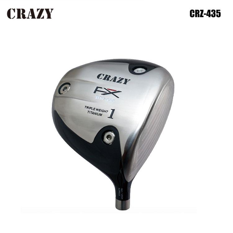 【送料無料】【CRAZY/クレイジー】CRZ-435 DRIVERCRZ-435 ドライバーREGENESIS Royal Decoration カーボンシャフト【カスタムクラブ】