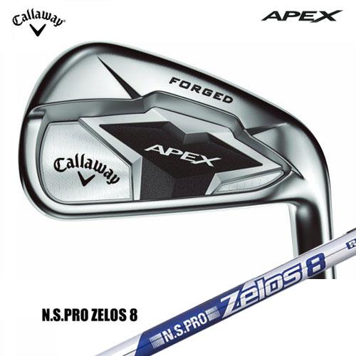 【Callaway/キャロウェイ】APEX19 エイペックスアイアン単品N.S.PRO Zelos8スチールシャフト【日本正規品・保証書付き】