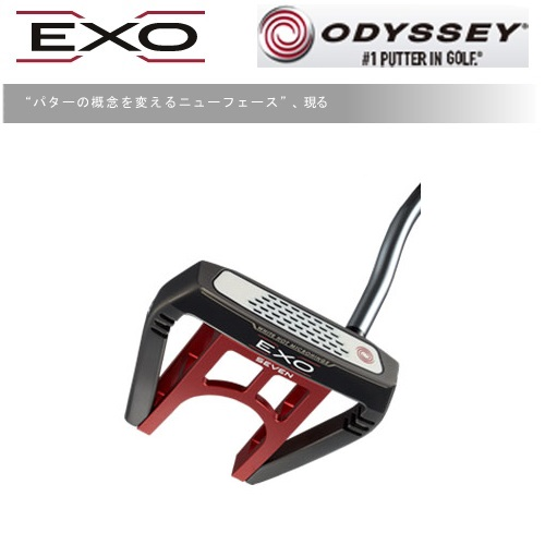 【ODYSSEY/オデッセイ】EXO エクソー SEVENパターOD WORKS TOUR SS DFXグリップ【日本正規品・保証書付き】