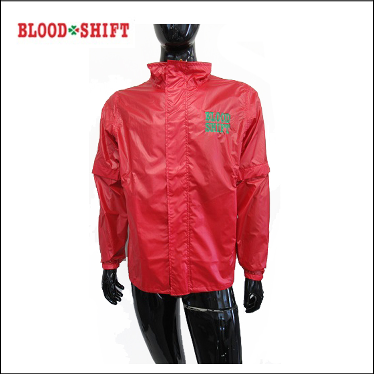 【BLOOD SHIFT/ブラッドシフト】BLR-032WAYレインウェア 上のみサイズ 【送料無料】