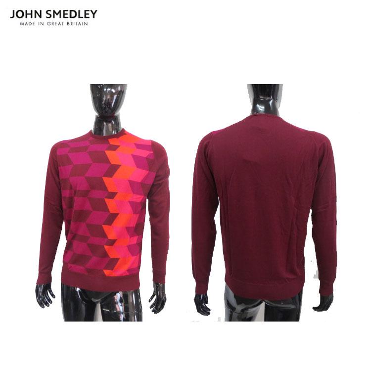 【送料無料】【JOHN SMEDLEY/ジョンスメドレー】メンズ セーターKELBY【ラスト サイズ L】