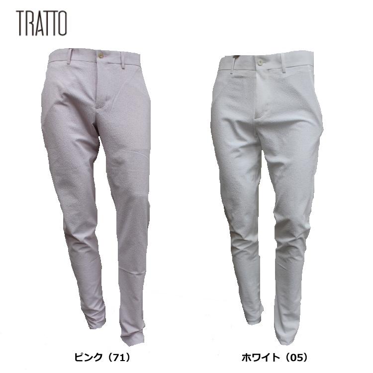 【TRATTO/トラット】31-7201310ロング パンツ【UVカット・ドライ・透け防止】