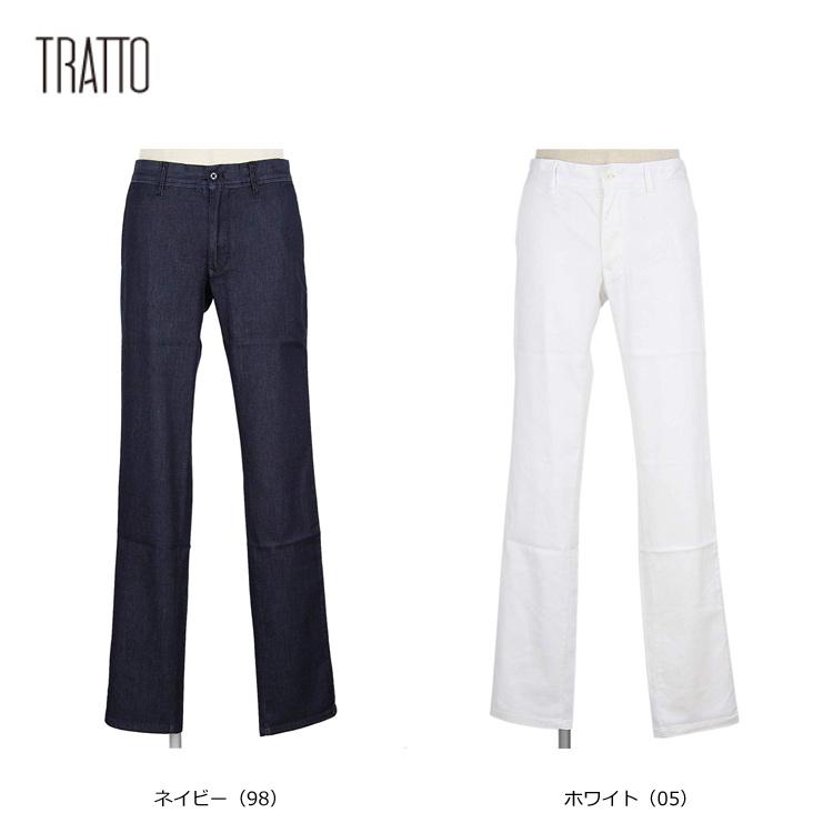 【TRATTO/トラット】31-7191210ロング パンツ【UVカット・ストレッチ】