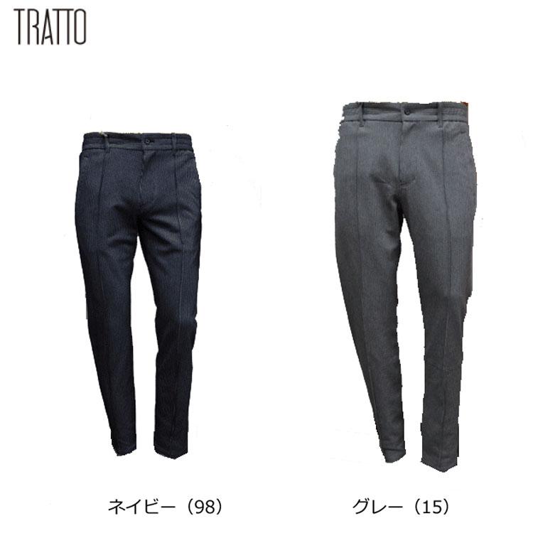 【TRATTO/トラット】31-7191411ロング パンツ【UVカット・ストレッチ】