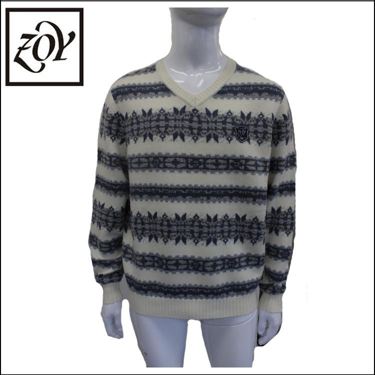 【送料無料】【ZOY/ゾーイ】メンズ 長袖セーター071484731