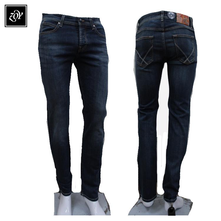 春夏モデル メンズ パンツ 商品 在庫限り 50%OFF デニムパンツ071482492 ロジャーズ ロイ イタリア製