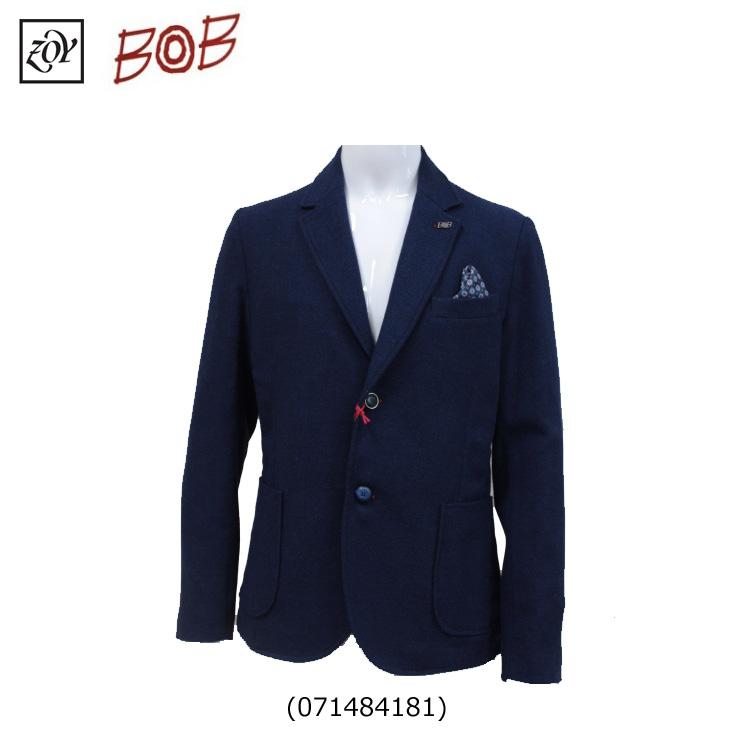 【送料無料】【ZOY/ゾーイ】【BOB ボブ コラボ】メンズ テーラードジャケット071484181ネイビー(85)