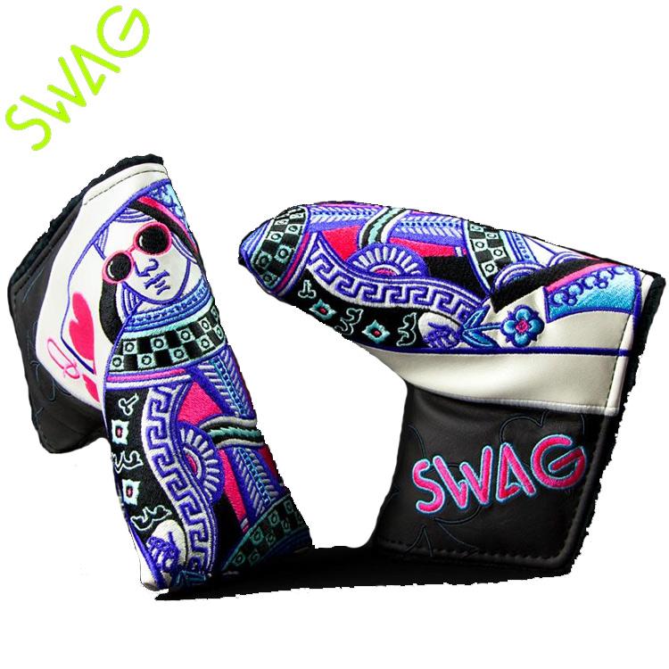 【送料無料】【SWAG GOLF/スワッグゴルフ】QUEEN of SWAG クイーン オブ スワッグピンタイプパターカバー