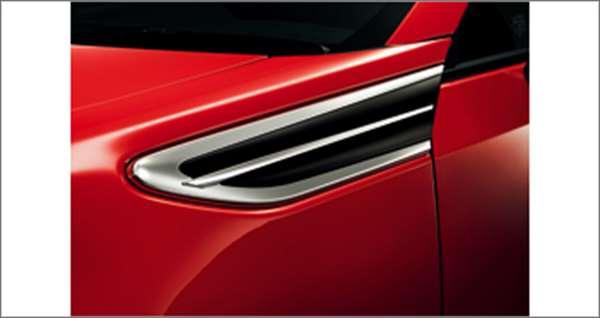 『86』 純正 ZN6 フェンダーガーニッシュ タイプA パーツ トヨタ純正部品 オプション アクセサリー 用品