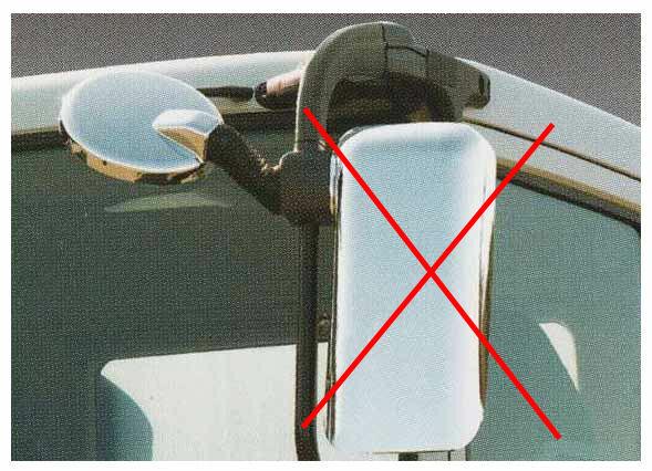 スーパーグレート パーツ 補修品の左側アンダーミラーカバーのみ 三菱ふそう純正部品 FU54VZ~ オプション アクセサリー 用品 純正 メッキ