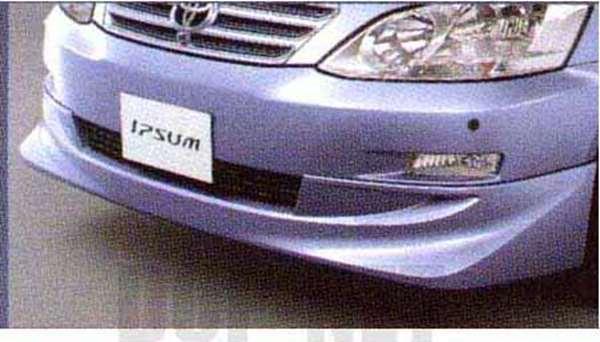 『イプサム』 純正 ACM21 フロントスポイラー パーツ トヨタ純正部品 ipsum オプション アクセサリー 用品